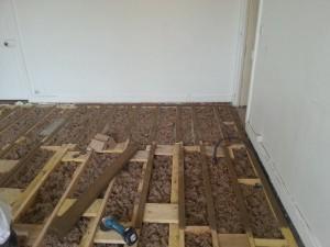 isolation du plancher