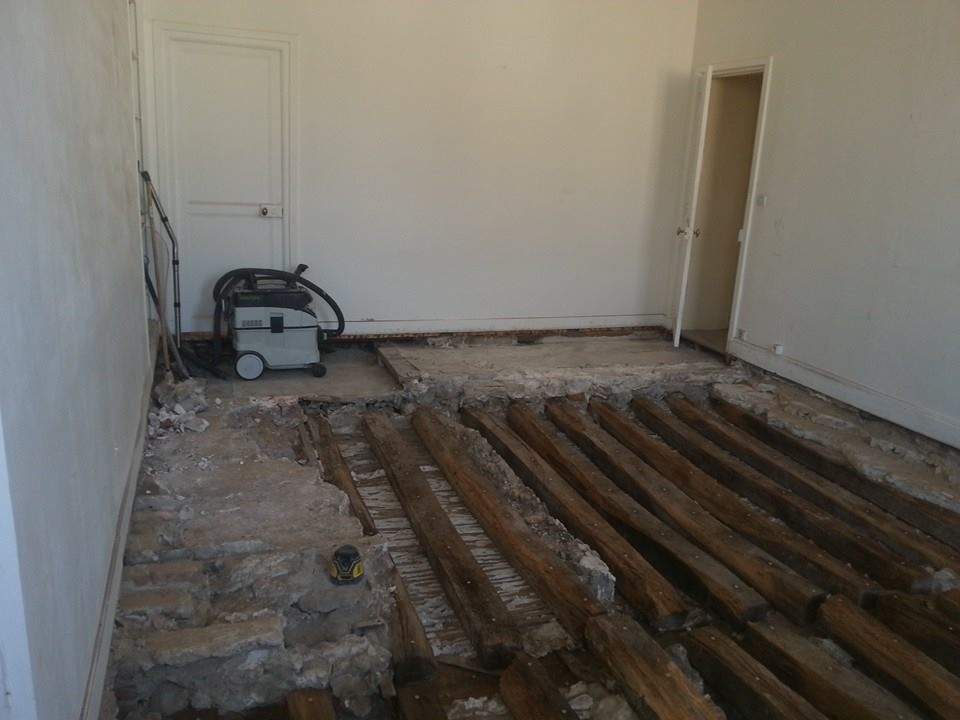 extraction du plancher