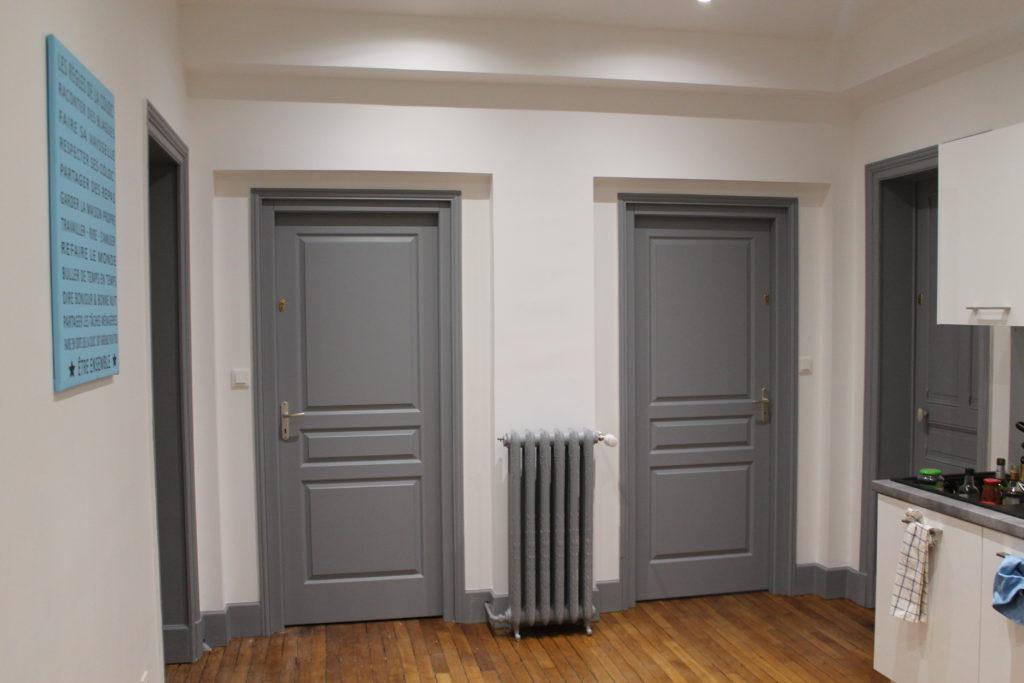 travaux de rénovation d'une maison de maître à Compiègne